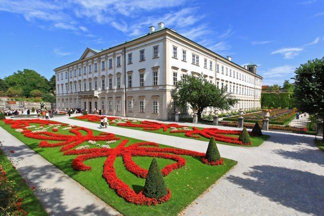 Ausflugsziel - Schloss Mirabell, Salzburg