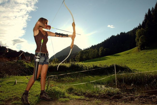 Bogenschießen - Sommerurlaub in der Region Schladming-Dachstein