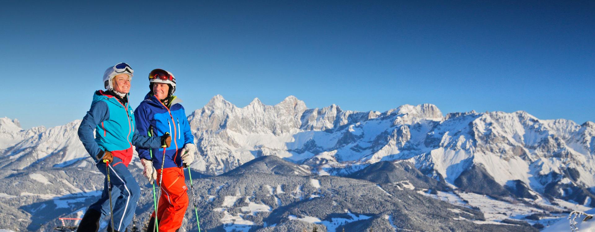 Winter Skiurlaub Am Hauser Kaibling In Der Steiermark